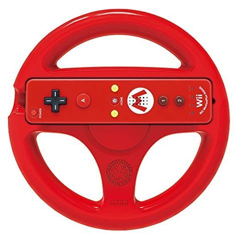 HORI Mario Kart 8 Racing Wheel (Mario)   Nintendo Wii U