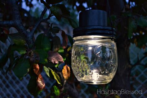 hometalk hanging jar solar lights
