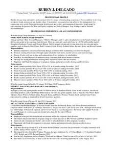 liquor store manager resume ruben delgado resume 2012 linked in