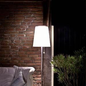 Gacoli roots no 5 led solar garten stehlampe 176 cm for Französischer balkon mit garten stehlampe solar