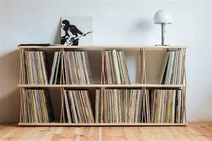 Meuble Pour Vinyle : meuble commode pour disques vinyles ~ Teatrodelosmanantiales.com Idées de Décoration