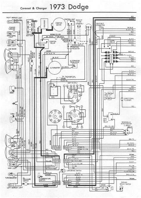 Electrical Wiring Diagram Dodge Coronet