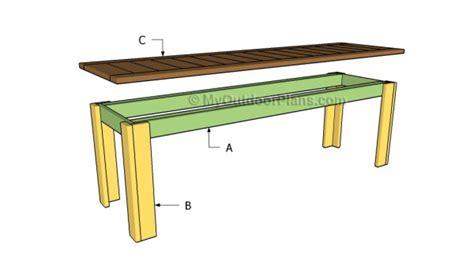 simple outdoor bench plans myoutdoorplans