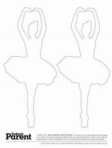 ballerina template coloring ballerina and ballerina With pin the tutu on the ballerina template