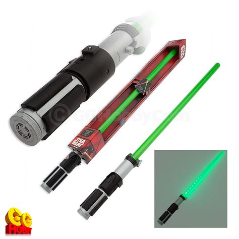 Disney Light Saber by Disney Store Authentic Yoda Electronic Lightsaber Green