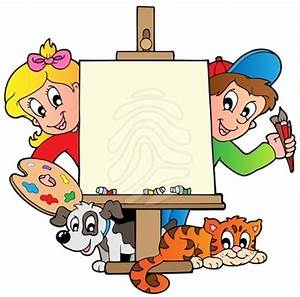 Clip art: Cartoon kids with | Clipart Panda - Free Clipart ...