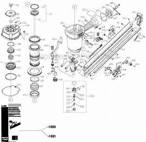 Porter Cable Fr350a Parts List And Diagram