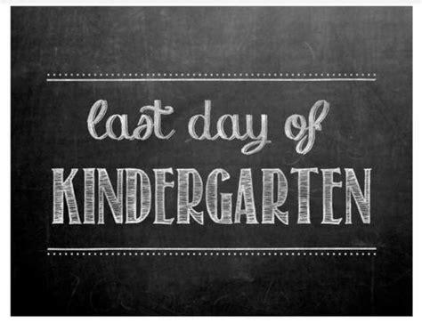 last day of preschool printable the cutest list of printable last day of school signs 802