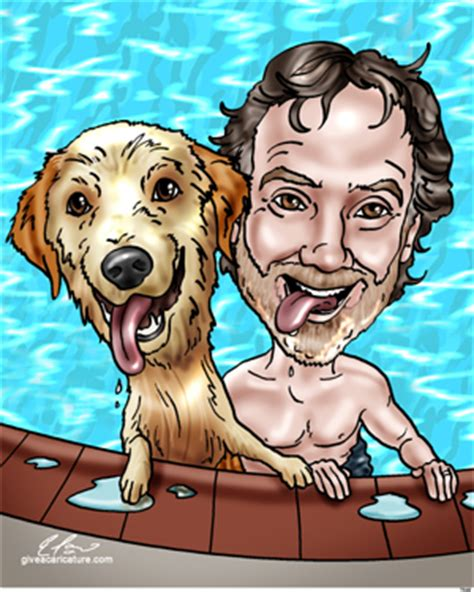 custom caricatures  photo gallery  awesome