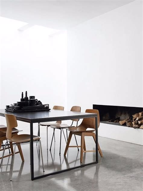 20 Timeless Minimalist Dining Rooms With Modern Dining Tables