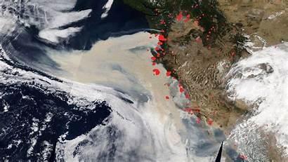 Aerosols Fires Zone Danger Worst Wildfires September