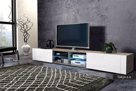 mobile sala moderno mobile soggiorno tokyo 2 0 porta tv moderno con led 200 cm