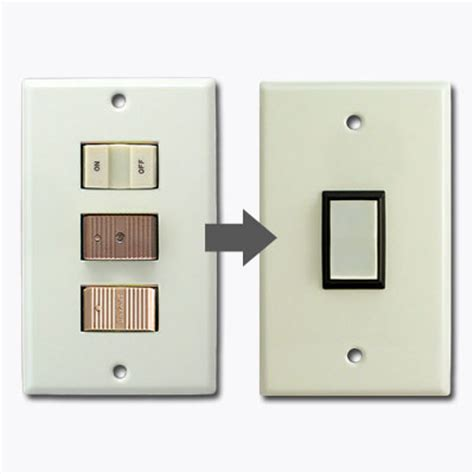 low voltage light switch ge new style snap in low voltage wall switch plates