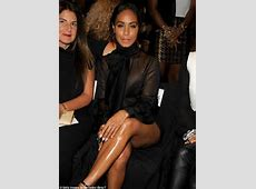 Jada Pinkett Smith visits Dennis Basso show during NYFW in