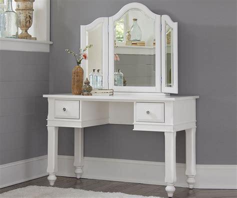 white desk with mirror lakehouse white finish vanity desk with mirror desks ne
