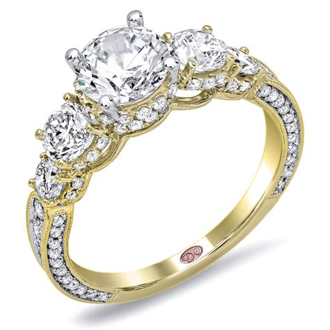 unique engagement rings dw6032
