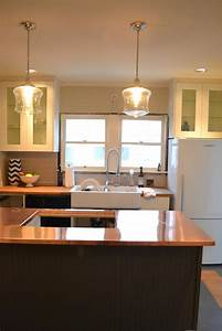 A, Home, In, The, Making, Renovate, Copper, Counters, Kitchen, Lights, And, More