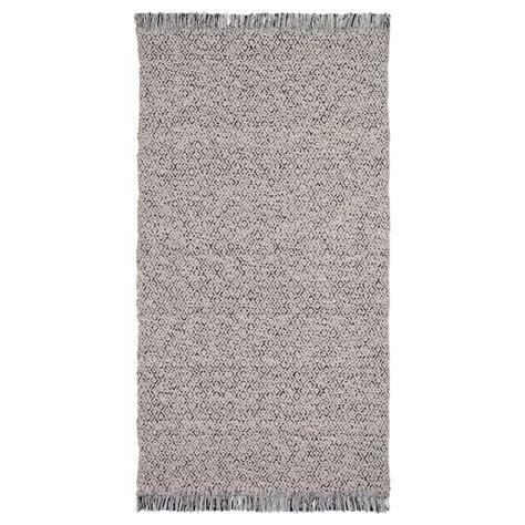 tappeto tessitura piatta r 214 rk 196 r tappeto tessitura piatta nero naturale ikea