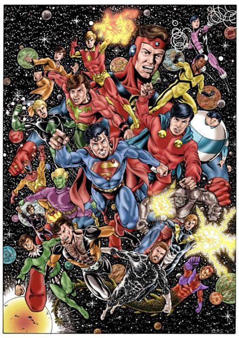 Legion Of Superheroes(guys Night Out) By Alex Garcia, In