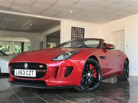 Used Italian Racing Red Jaguar F-type For Sale