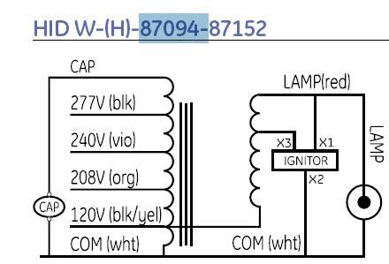 How Hook Hid Ballast Have Wiring Diagram