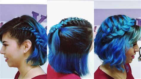 Peinados para Cabello Corto para la Escuela / Fiestas By