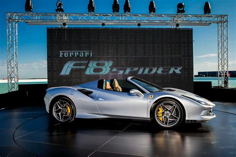 • let's see how much you know about africa's 'looted treasures'. The Ferrari F8 Spider unveiled for the first time in Australia — Il Globo