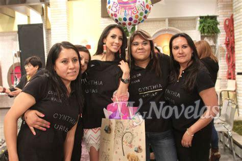 FOTOS: Cynthia Urías celebró su cumpleaños en 'Hoy