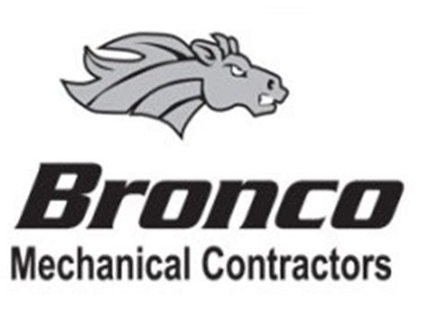 bronco mechanical contractors  edmonton ab