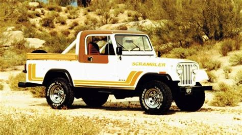 scrambler jeep years jeep scrambler name to return on new pickup report says
