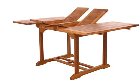 teak butterfly extension table td72