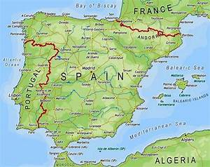 Spain Map Pictures and Information Map of Spain Pictures and Information