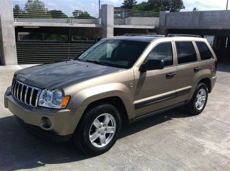 Sell Used 2006 Jeep Grand Cherokee Laredo Sport Utility 4