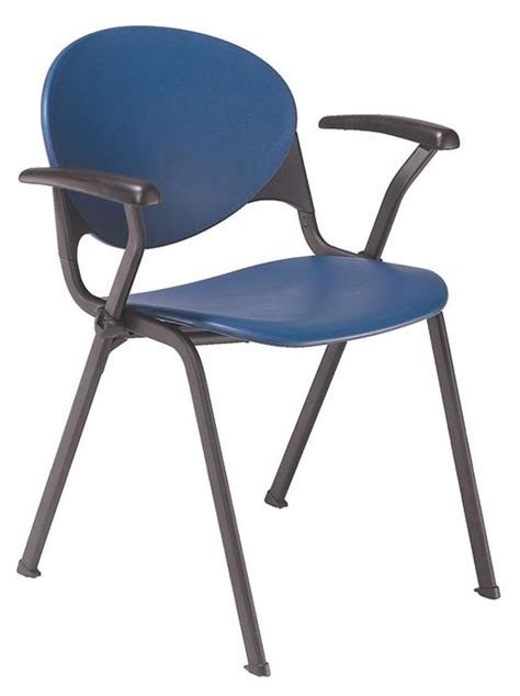 kfi seating stack chair with arms 2000ar plastic