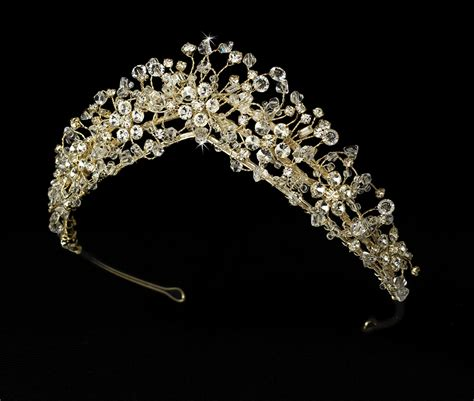 enchanting crystal couture bridal tiaras elegant bridal