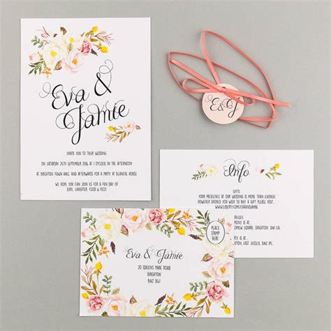 20 of the loveliest illustrated wedding invitations from uk designers the english wedding blog