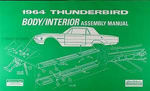 1964 Ford Thunderbird Electrical Assembly Manual Reprint