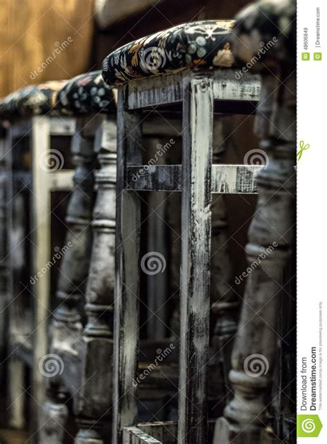 Sgabelli Antichi Sgabelli Da Bar Antichi Immagine Stock Immagine Di