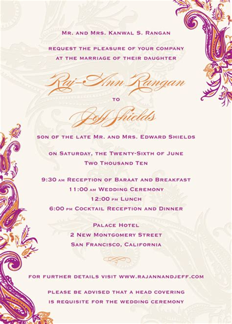 indian wedding invitation wording indian wedding card wordings reference for wedding decoration