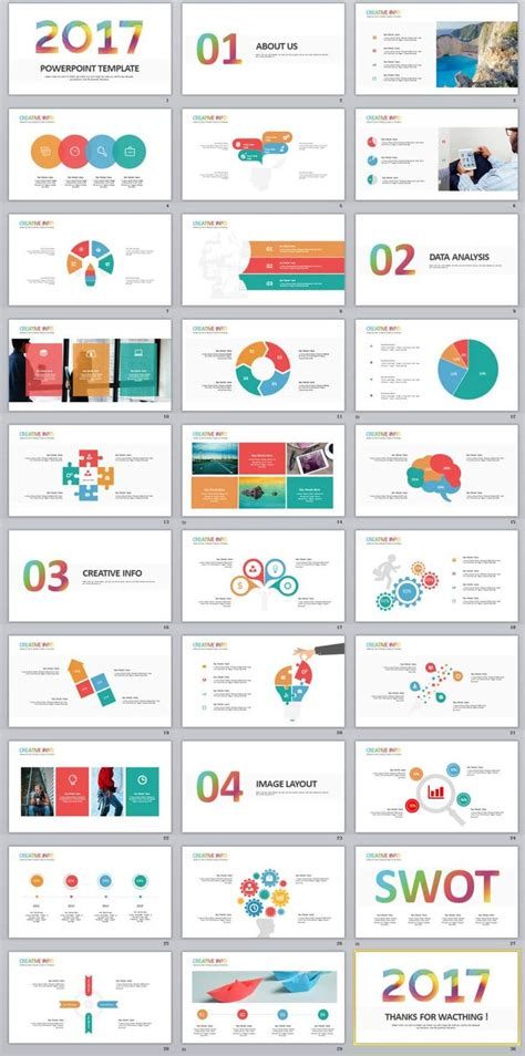 30 Best And Free Powerpoint Templates To 66 Best 2018 Best Infographics Powerpoint Templates Images