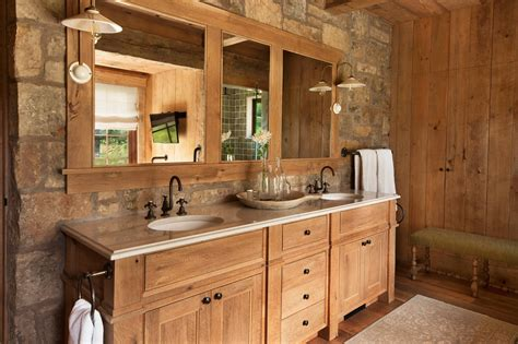 Rustic Bathroom Designs Rustic Bathroom Remodel Vanity