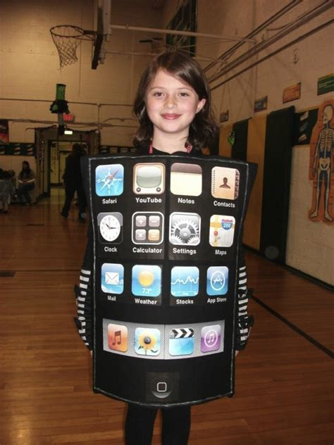 iphone costume readers spice up with apple themed costumes