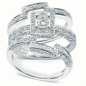 get most brilliant 3 piece wedding ring sets for With 3 piece wedding ring set