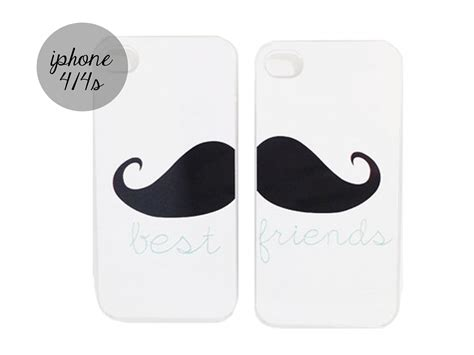 best friend iphone cases moustache best friends iphone cases on luulla