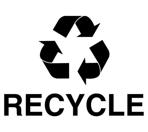 trash bins buy black mobius arrow and recycle decal rc recycle logo