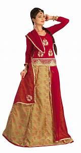 Buy Triveni Rajasthani Style Embroidered Lehenga Choli ...