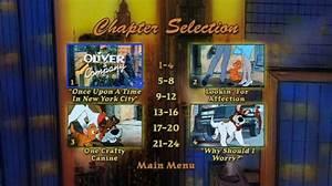 Oliver & Company (1988) - DVD Movie Menus