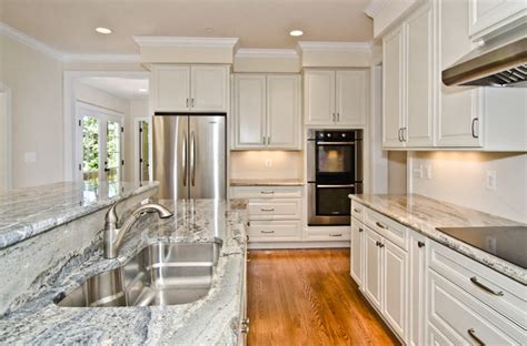 Monte Cristo Granite in Owings, MD   Traditional   Kitchen