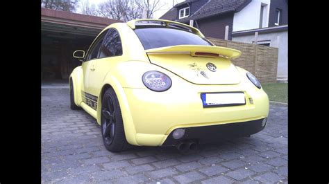 vw  beetle projekt zwo sound exhaust youtube