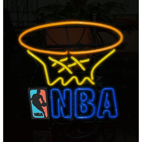 nba neon sign 115445 wall at sportsman s guide
